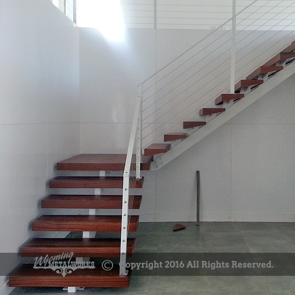 Custom Cable Railing And Stairs