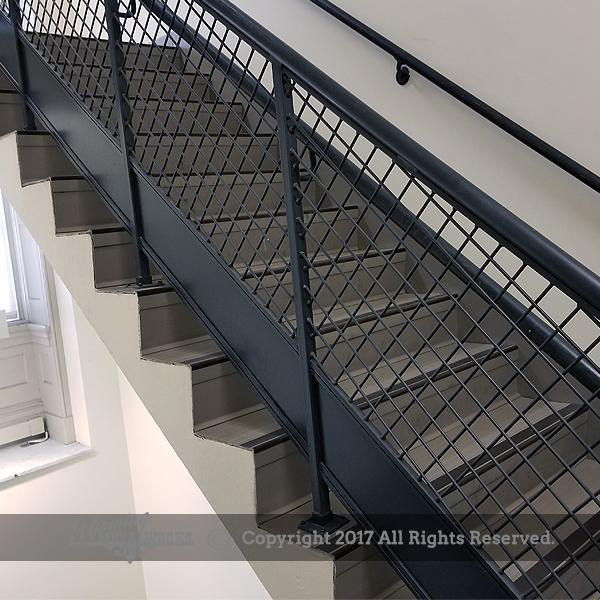Guard hand railing